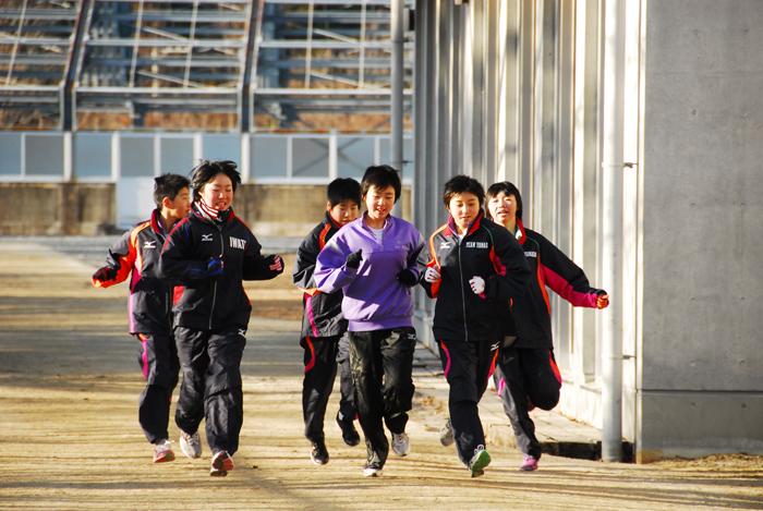 山田中学校陸上部